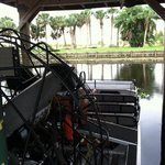 One of several airboats