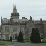 Adare Manor on a cloudy day