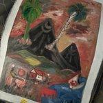 Our beautiful painting by Raskassah!
