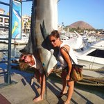 Fun times at the Marina in Cabo!