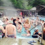 Crowded Hot Springs