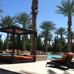Aliante Hotel Pool Area -  Las Vegas