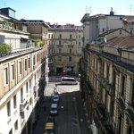 View of sidestreet off Via Spadari