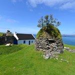 Beehive hut on Blasket Island