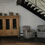 sample of the clean and antique decor