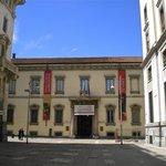 Pinacoteca Ambrosiana around the corner from hotel