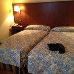 Duas camas de solteiro???
