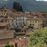 View of resort from Barga