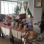 buffet breakfast internazionale