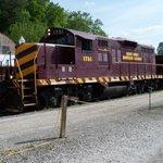 Train at Bryson City, NC