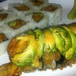 Alaska Roll and Spicy Yellowtail! Excellent!