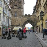 Next to Charles Bridge