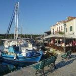 Fiskardo harbourside