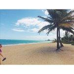 Private beach 5 min away