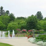 Our Fountain Garden is a beautiful location for weddings