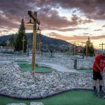 Mini golf is free for guests (courtesy of Phil Frigon)