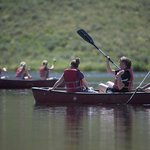 Canoeing at the reservoir during the summer. (courtesy of Phil Frigon)