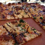 Chicken Fig Pizza