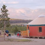 Our yurts sleep up to 6 people.