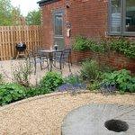The Tack Room garden