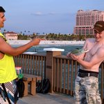 Some young men from Ireland and their catch of a Spanish Mackerel