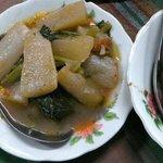 Radish stew