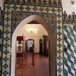 tiled doorway in palace
