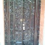 porte d entrée de la chambre