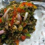 pickled tea leaves salad
