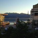 A view of Canada Place from the roof garden