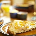 Homemade Organic Toast and Marmalade