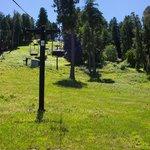 Lush Mountain Top &  Skiing in WInter