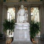 Jefferson statue in Grand Entrance