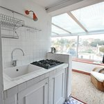 Apart-studio with terrace / Kitchenette