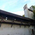 Остатки крепостной стены Базеля у музея бумажной мануфактуры