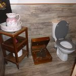 Quirky toilet