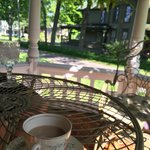 Coffee on Patio 2014