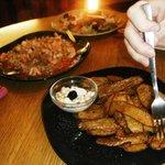 Potato Skins and Risotto