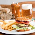 Beer Palace burger