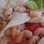 shrimp & fish soft tacos