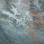 Yankee Hat rock paintings
