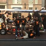Calum's Stag Weekend Amsterdam Limo Bike