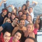Crew and Guests Selfie
