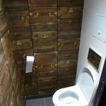 Different small toilet room