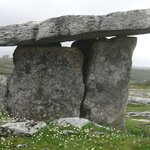 5000 year old Portal Tomb. Sorry, I have no photo's of the hotel, but you can google it.