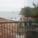 balcon,frente al mar