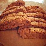 Gluten-free pumpkin biscotti
