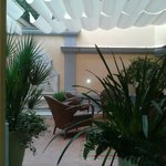Sala de descanso relaxante bela bem confortavel
