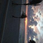 Sunrise at Hollywood Boardwalk