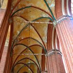 ceiling of a cathedral in Rostock